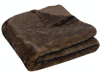 Sable Faux Fur Throw 039492