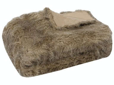 Wolverine Faux Fur Throw 039497