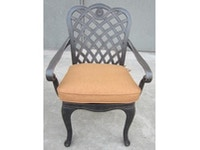 Sonoma Outdoor Dining Chair with Cushion 041427