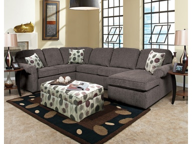 Malibu Right Chaise Sectional 041631