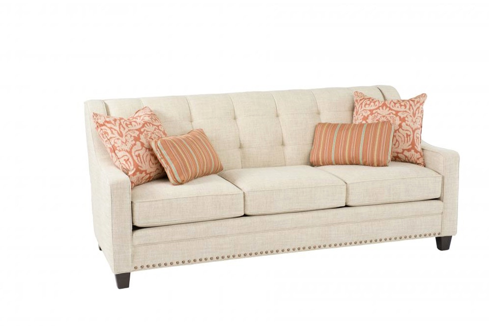 Smith Brothers Tufted Back Sofa 051604
