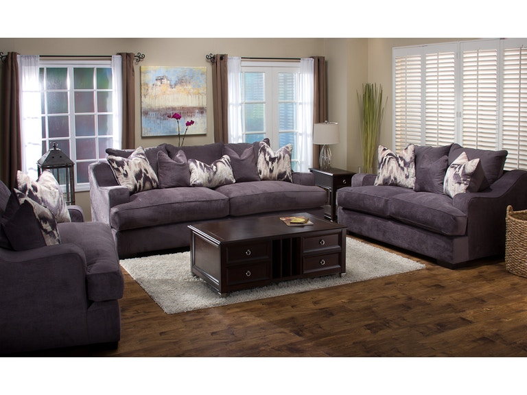 Michael Nicholas Designs Living Room Ettica Sofa 043685 Furniture Fair Cincinnati Dayton