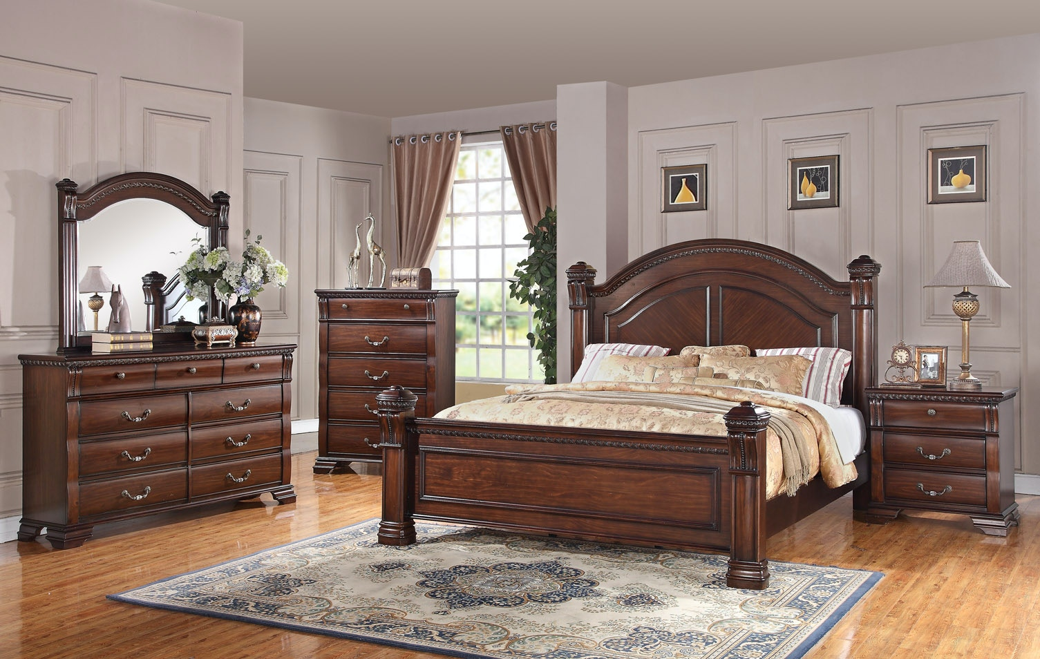 Austin Group Isabella Bedroom Group   Queen 067786