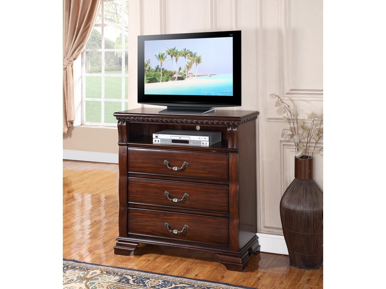 Austin Group Isabella Media Chest 043875