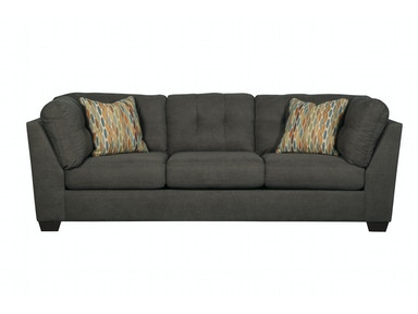 Delta City Sofa - Steel 044452