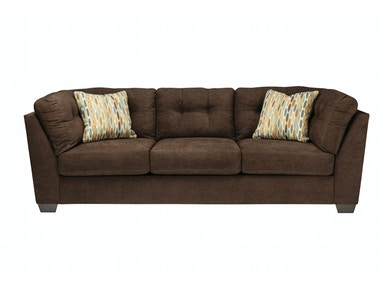 Delta City Sofa - Chocolate 044460