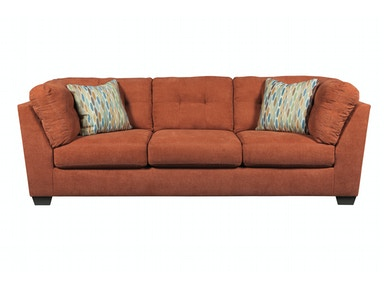 Delta City Sofa - Rust 044466