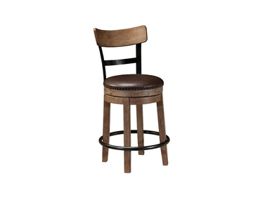 Pinnadel Swivel Counter Stool 044634