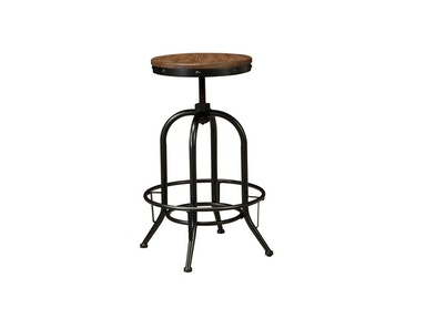 Pinnadel Adjustable Height Swivel Bar Stool 044638
