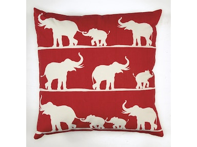Elephant Family Pillow 045755