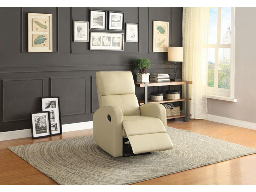 Taupe Living Room Homelegance Living Room Mendon Recliner Taupe 045778 Furniture