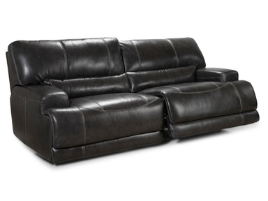 Motion Max Power Reclining Sofa - Charcoal 045952