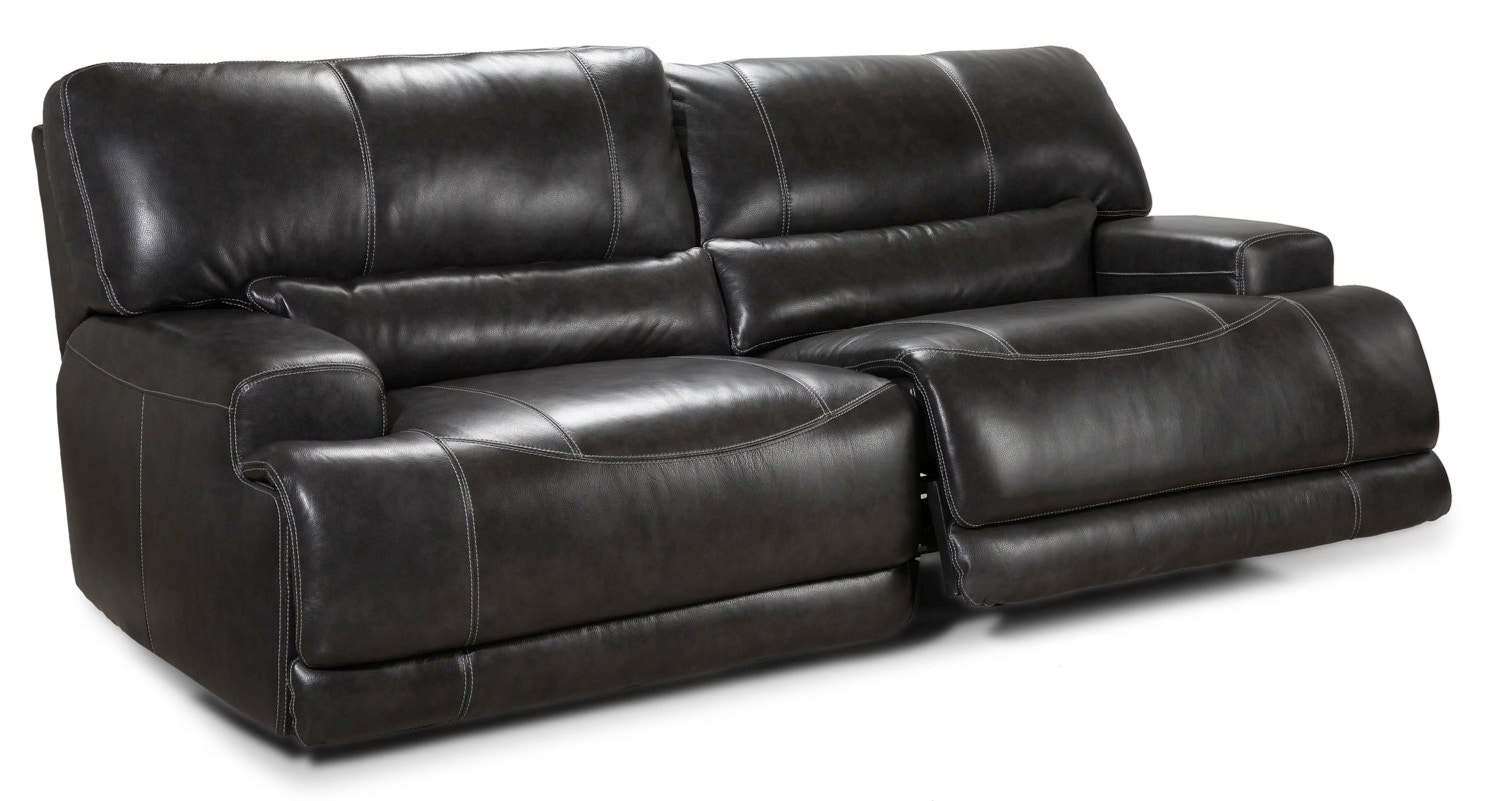 Simon Li Motion Max Power Reclining Sofa   Charcoal 045952