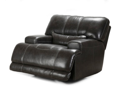 Motion Max Power Recliner - Charcoal 045955