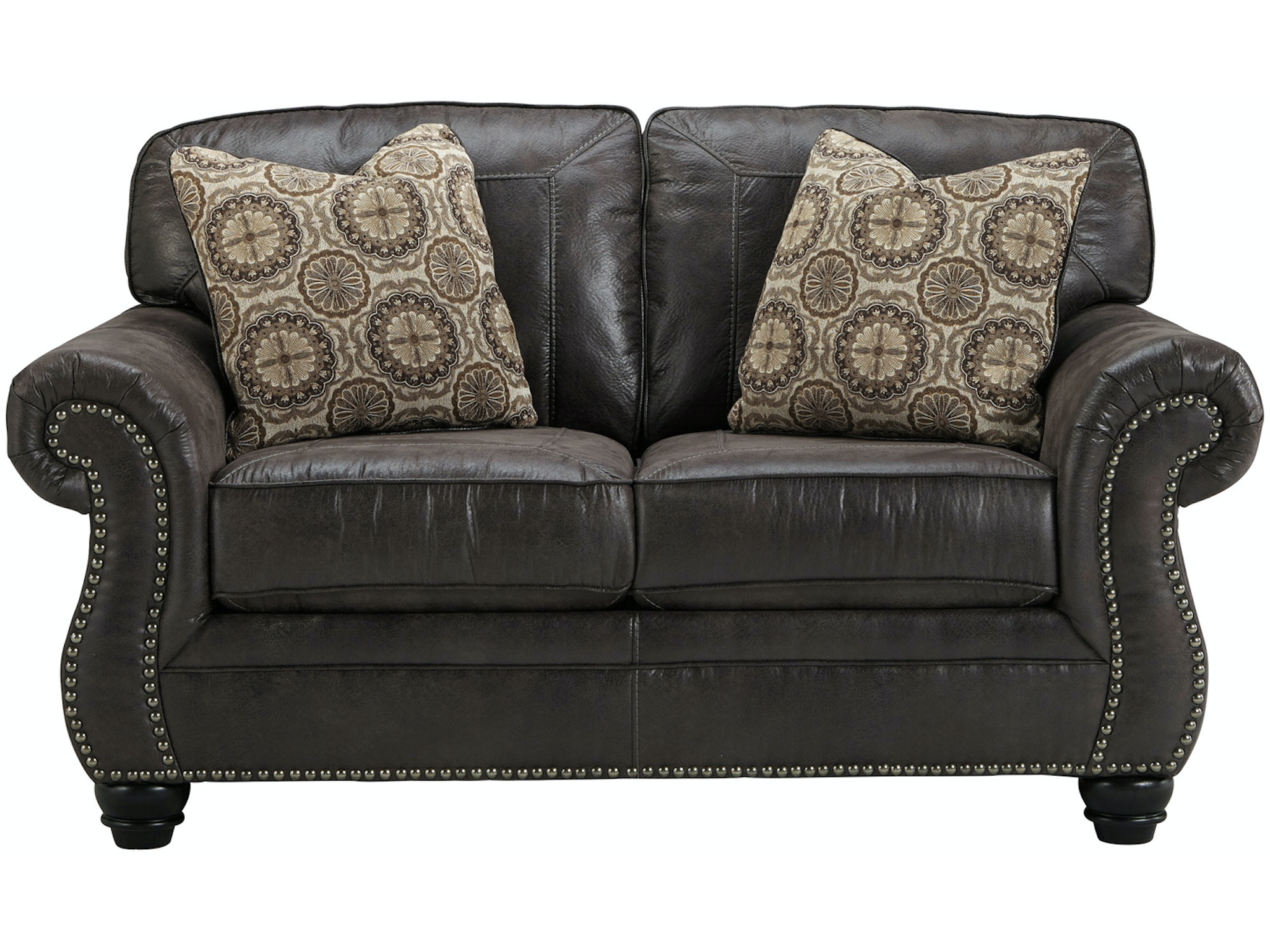 Breville Loveseat - Charcoal 046648