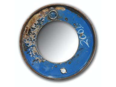 Industrial Mirror Iron Frame 047301