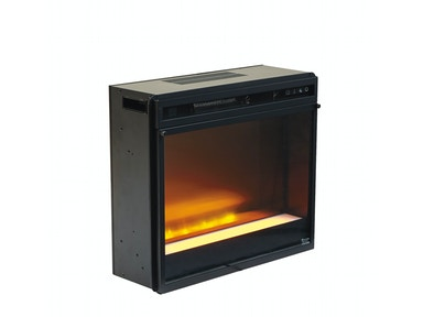 Fireplace Insert - Glass/Stone 048289