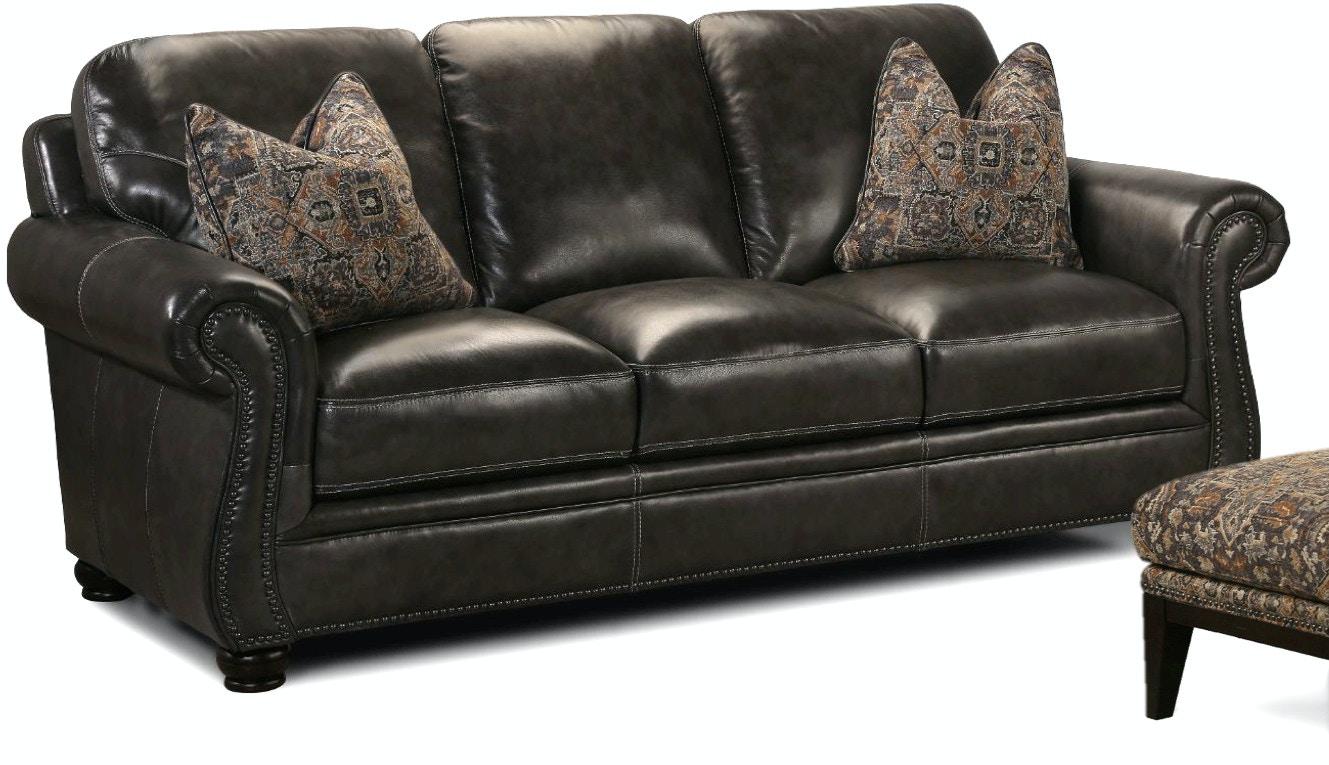 Lovely Simon Li Living Room Charleston Leather Sofa 048570 - Furniture  KR07