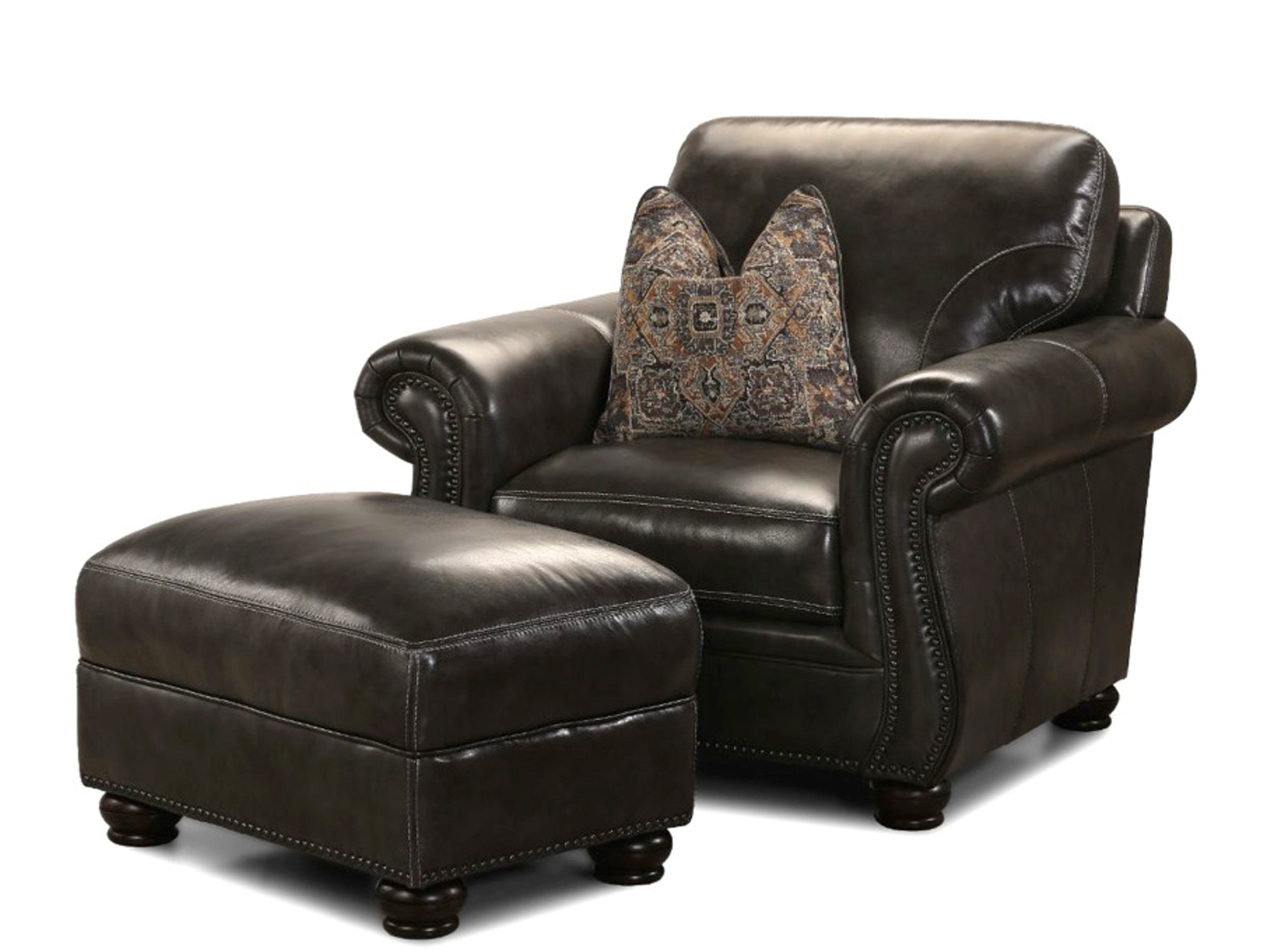 Charleston Leather Chair 048574