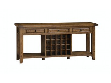 Oxford Pine Wine Table 048626