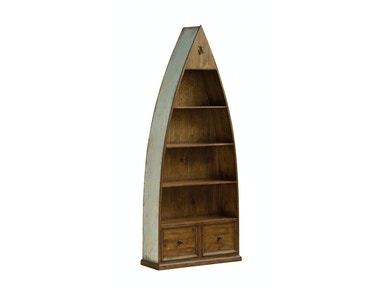 Sea Blue Boat Bookcase 048631