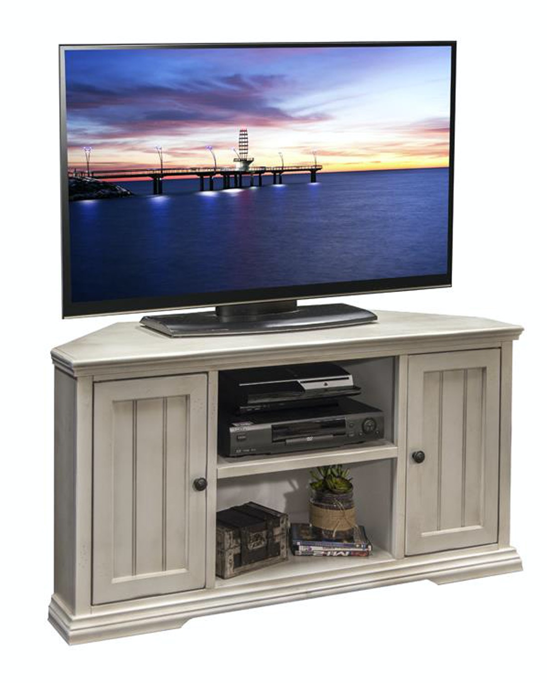 Legends Furniture Living Room Riverton Corner TV Console 049119