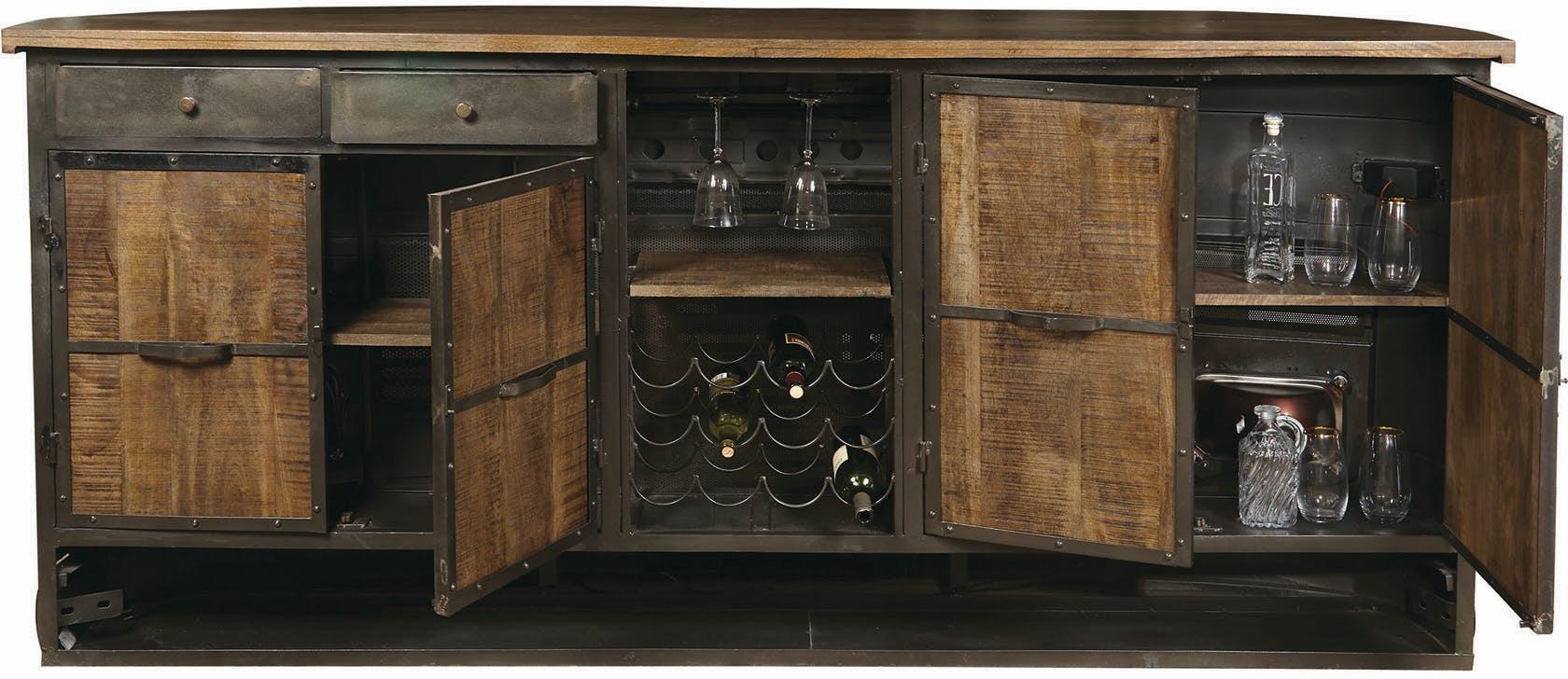 Pulaski Furniture Bar And Game Room Granite Falls Bar 050834 Furniture Fair Cincinnati