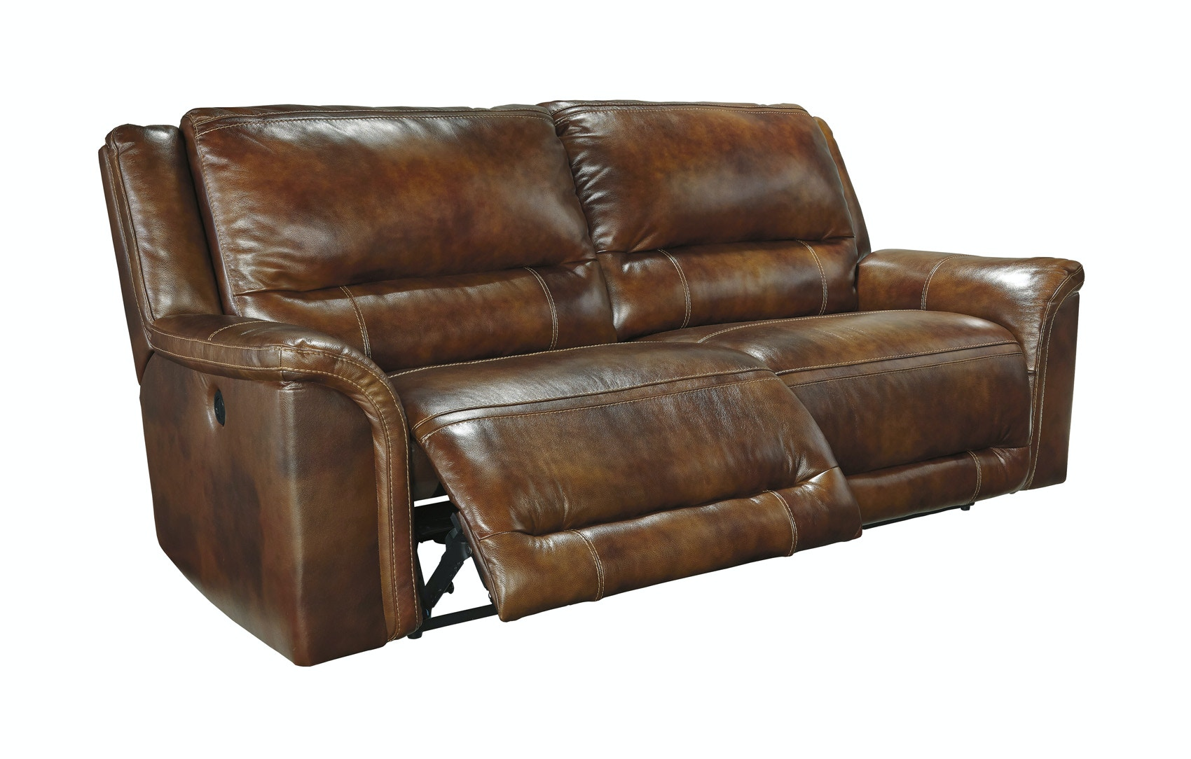Signature Design by Ashley Living Room Jayron Power Reclining Sofa 051045 - Furniture Fair ...