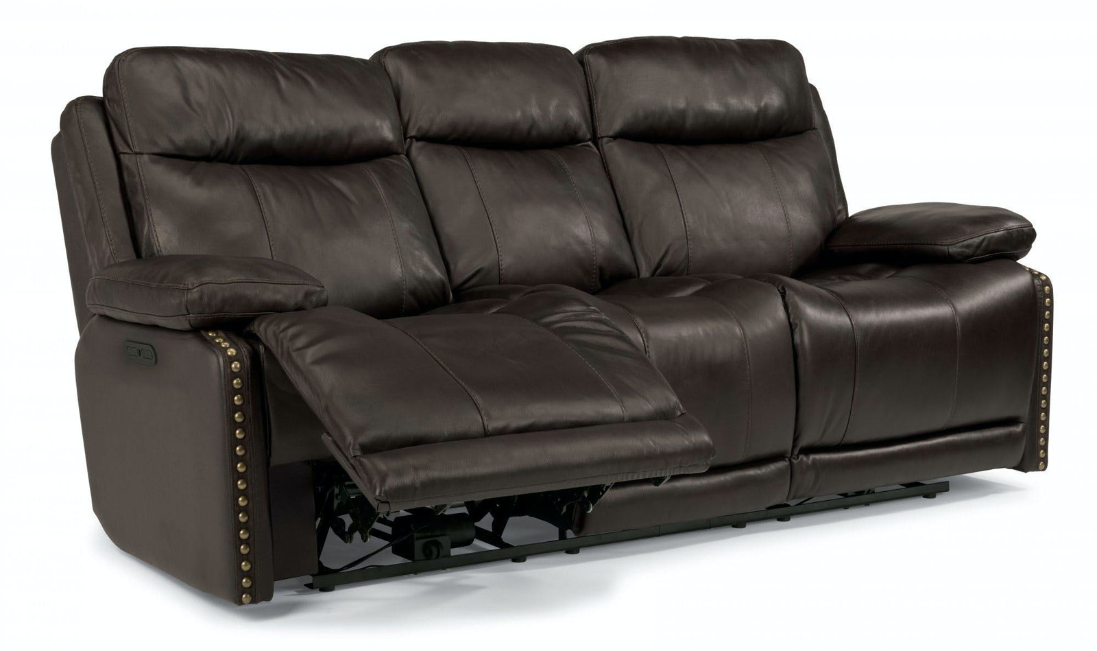 Flexsteel Russell Reclining Leather Sofa 051226