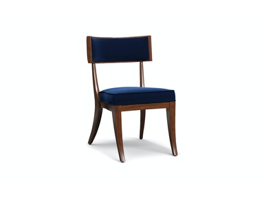Perch Upholstered Klismos Chair 051253