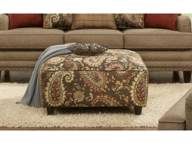 Lockleigh Cinnamon Cocktail Ottoman 051481