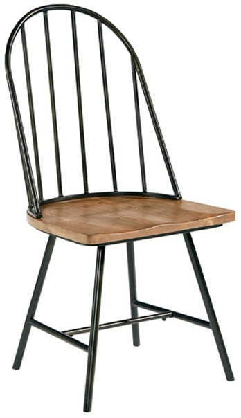 Magnolia Home Dining Room Metal Windsor Chair 051502 - Furniture ...