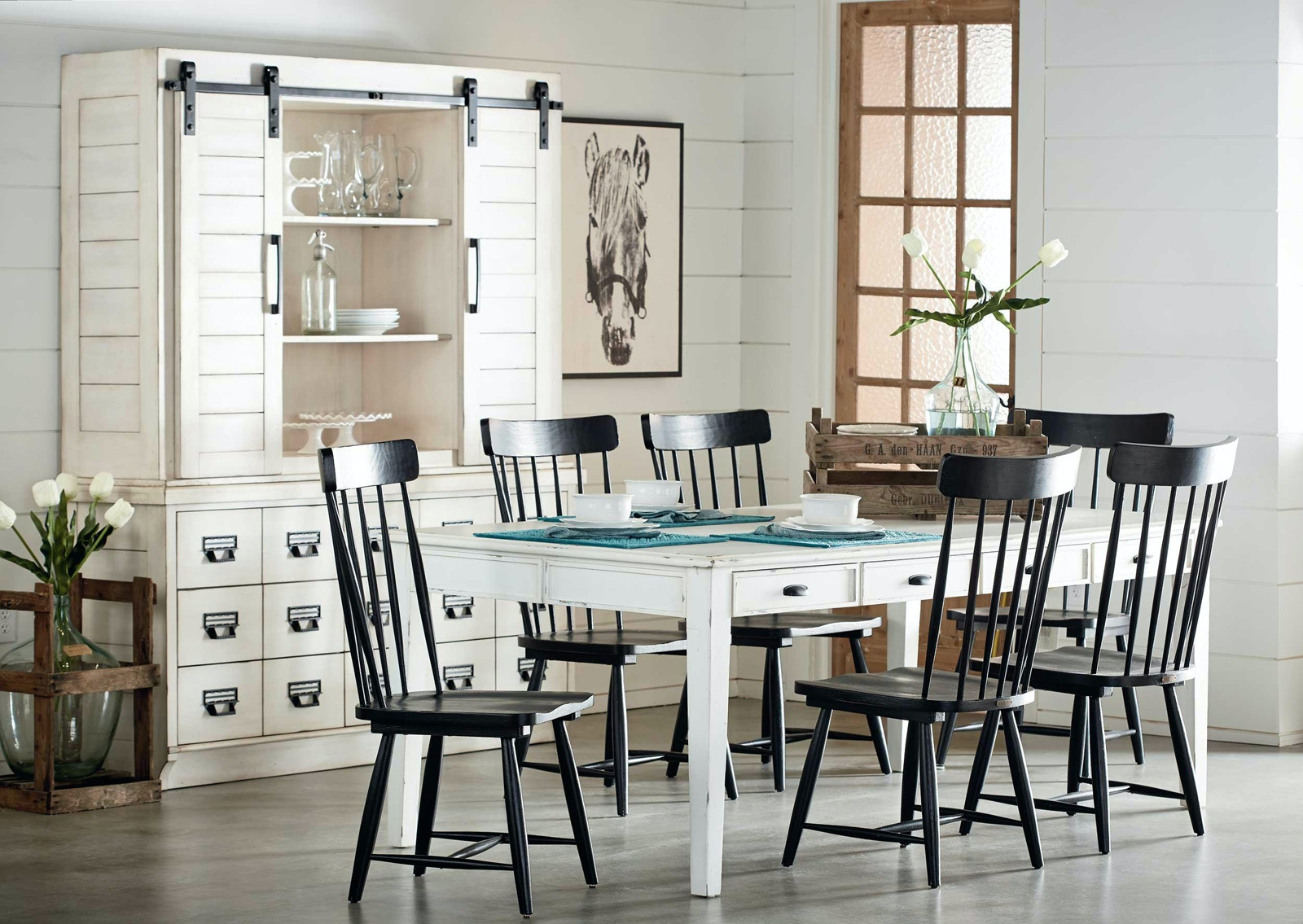 Magnolia Home Dining Room Farmhouse Dining Table 051505 - Furniture ...