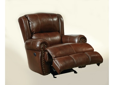 Duncan Leather Power Recliner 051516