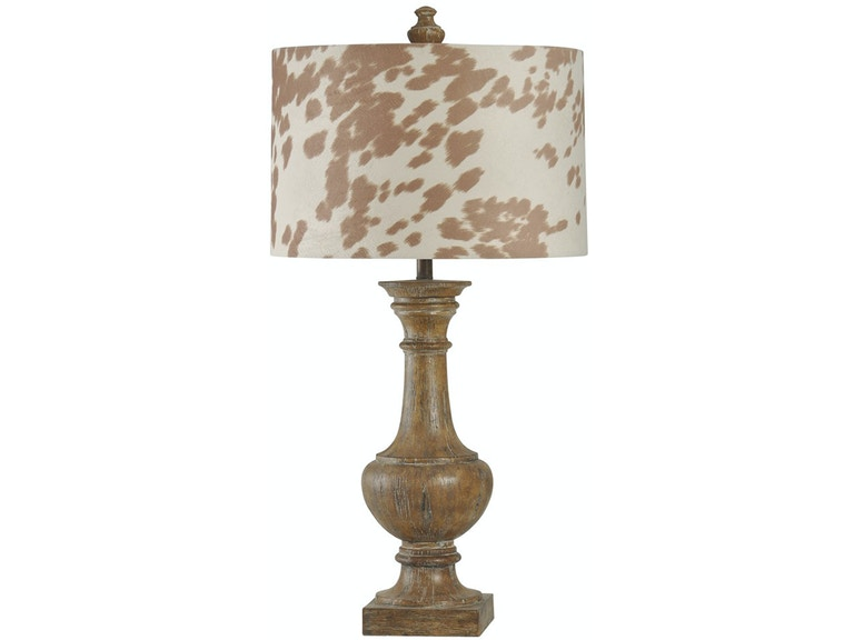 Stylecraft lamps accessories cowhide table lamp 051653 furniture stylecraft lamps cowhide table lamp 051653 mozeypictures Image collections