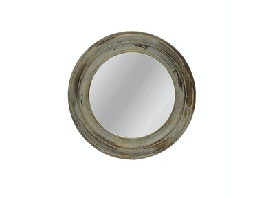 Distressed Fir Wood Framed Mirror 051657