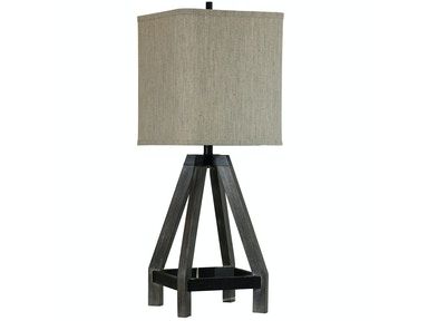 Wooden Buoy Table Lamp 051660