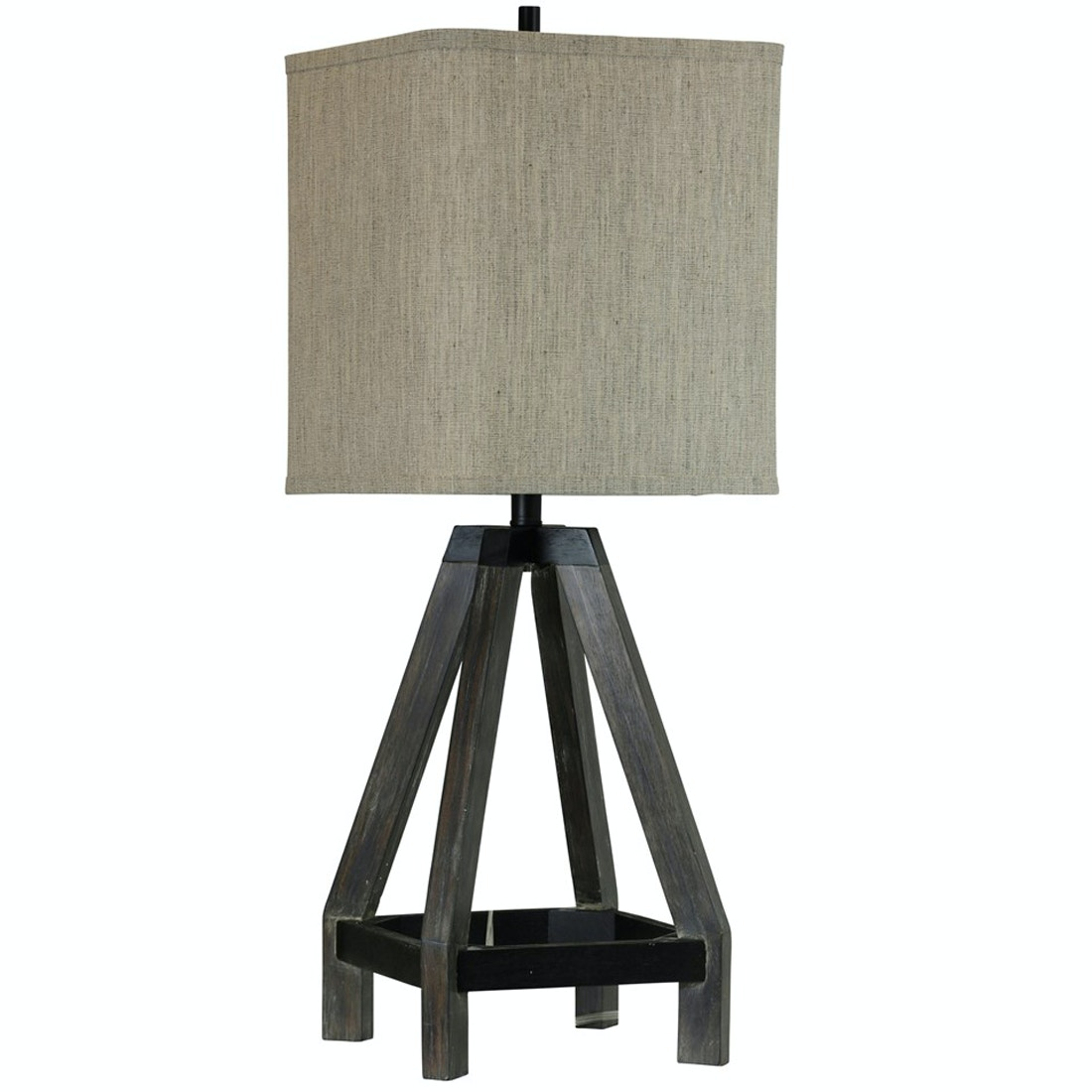 Stylecraft Lamps Wooden Buoy Table Lamp 051660
