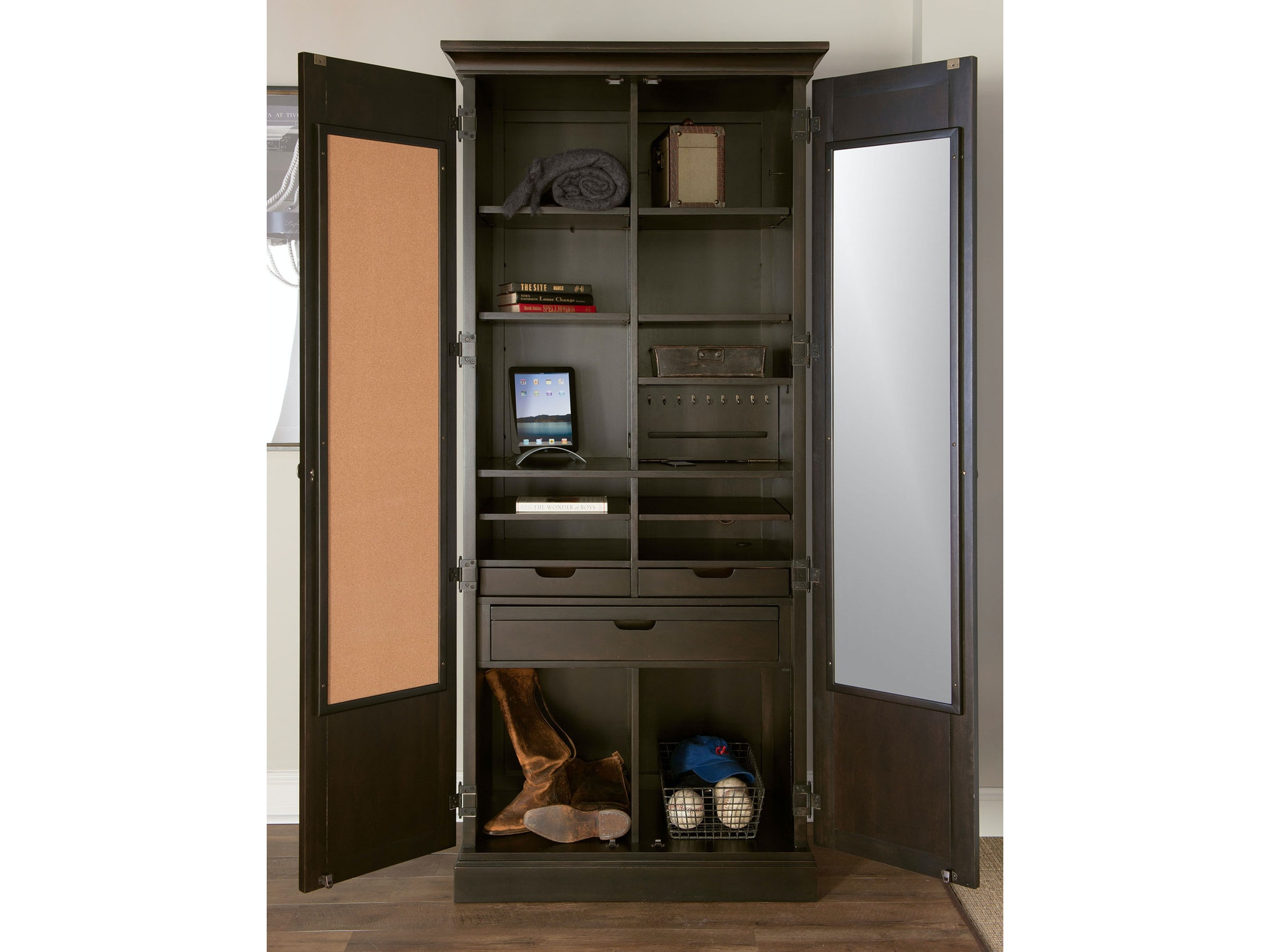 Upstate Utility Cabinet 051805