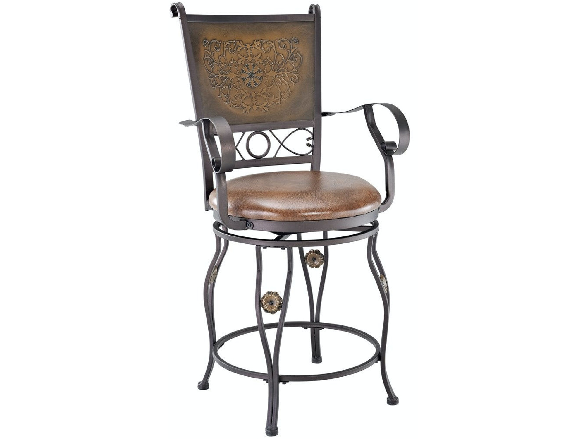 Abbottsford Copper Counter Stool 051942