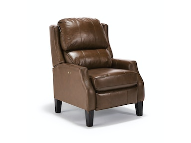 Russet Leather Power Recliner 052097
