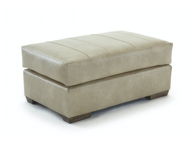 Riverloom Leather Ottoman 052101