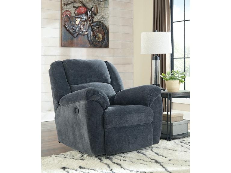 Signature Design By Ashley Living Room Timpson Rocker Recliner 052165 Furniture Fair