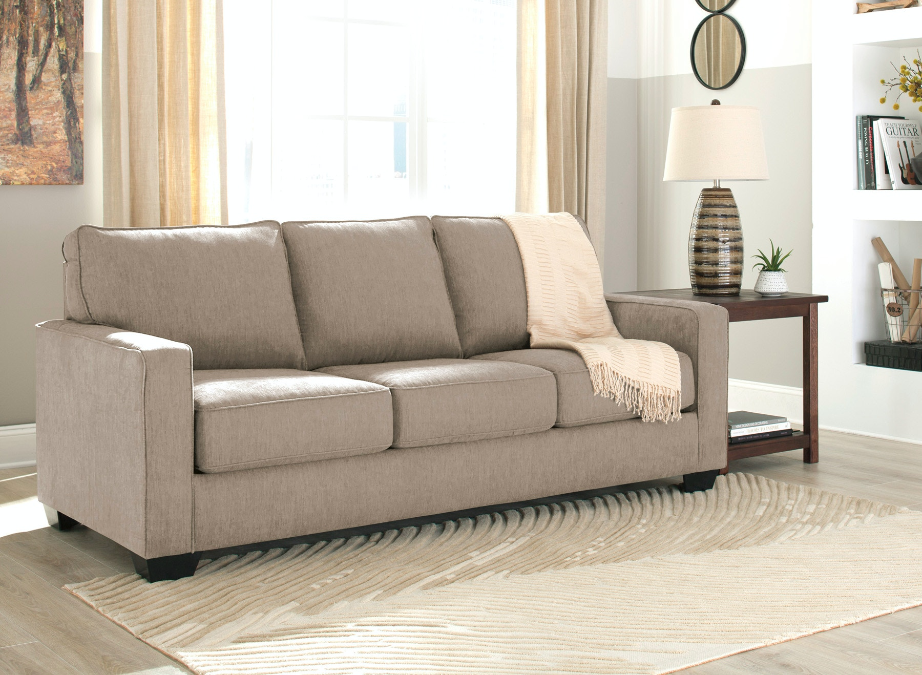 Signature Design By Ashley Zeb Queen Sleeper Sofa 052308