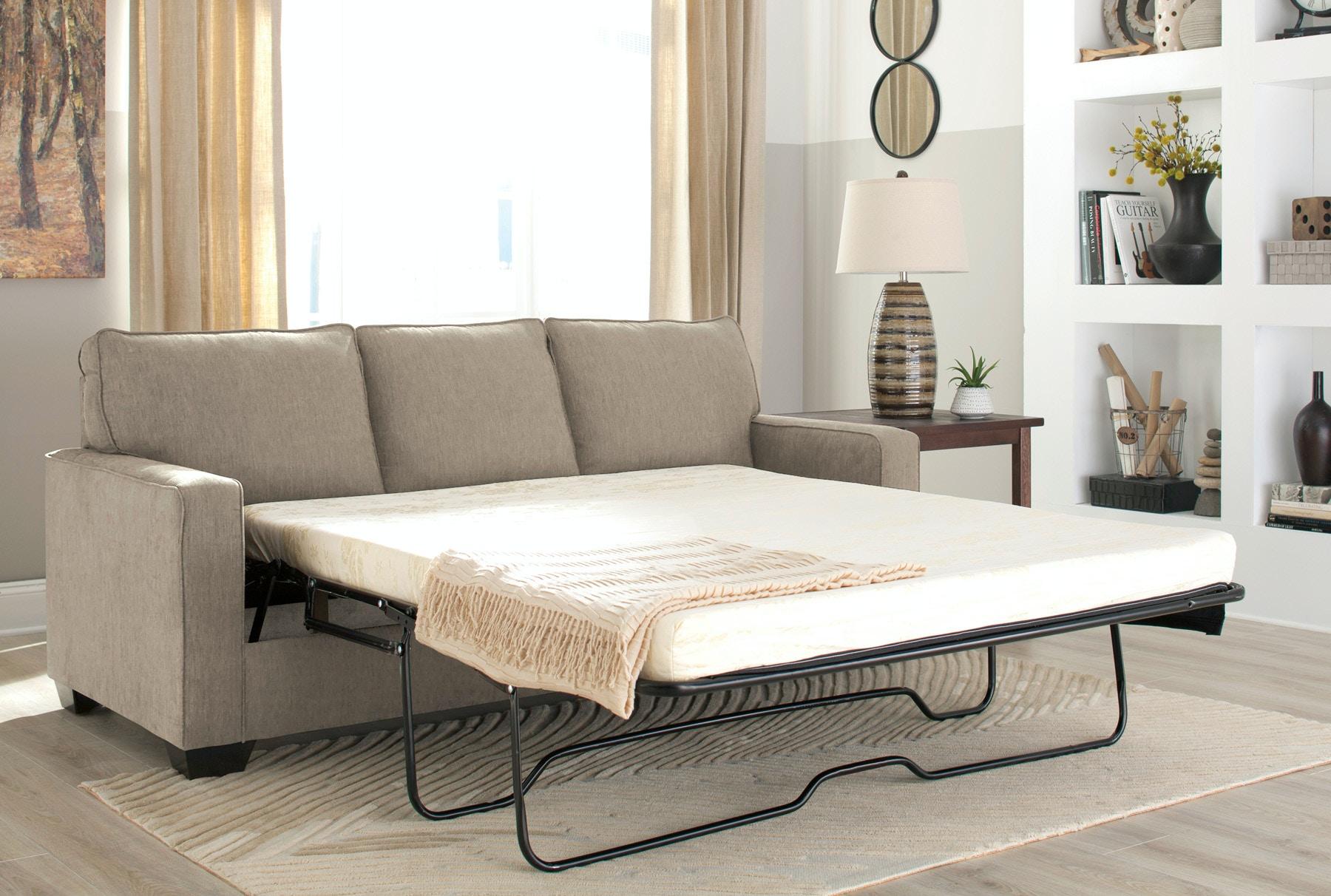 Nantucket 2 seat slipcover queen sleeper sofa rowe furniture rowe - Signature Design By Ashley Living Room Zeb Queen Sleeper Sofa