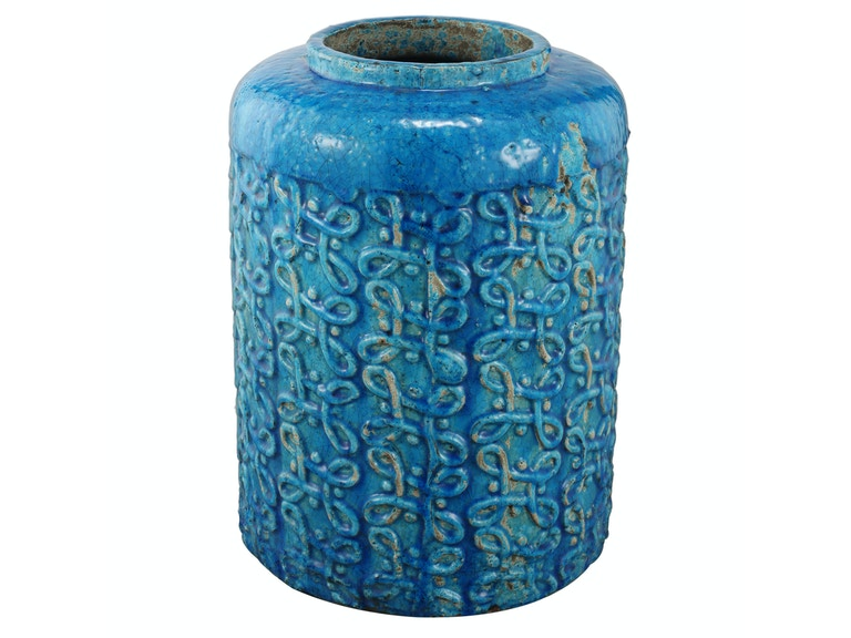 A&B Home Marco Blue Vase I 052638
