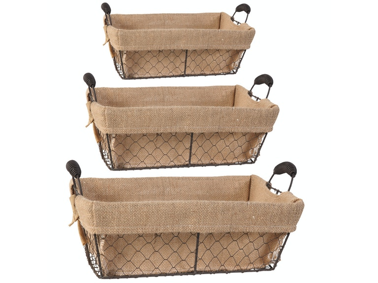 A&B Home Wire Basket Trio 052642
