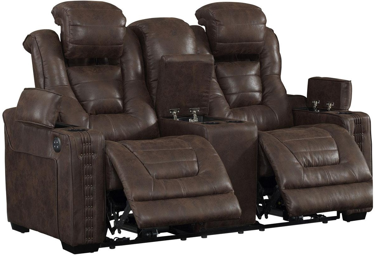 Prime Resources International Living Room Eric Church Power Console Loveseat 052719 Furniture
