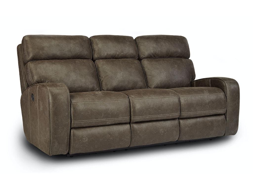 Flexsteel Living Room Tomkins Power Sofa 052828 Furniture Fair Cincinnati Dayton Oh And