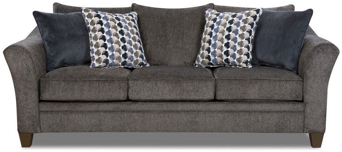 Simmons Upholstery Living Room Albany Sleeper Sofa Queen